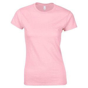 e2ae8c925 Fruit of the loom light pink lady fit t-shirt personalised