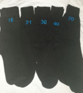 Mens black special age socks 18-100  years