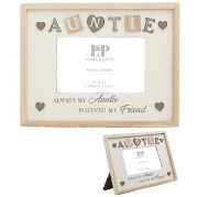 Sentiments auntie  picture frame
